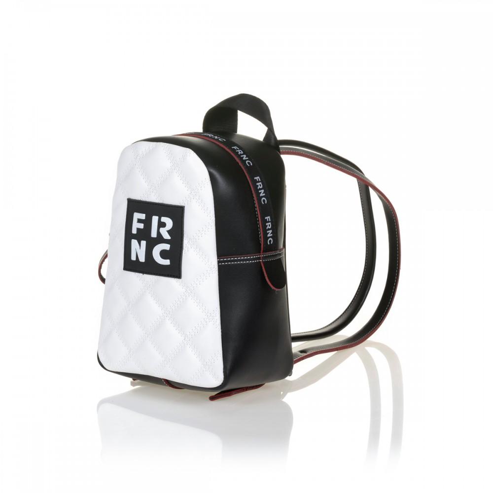 FRNC 1200-K backpack, μαύρο - λευκό