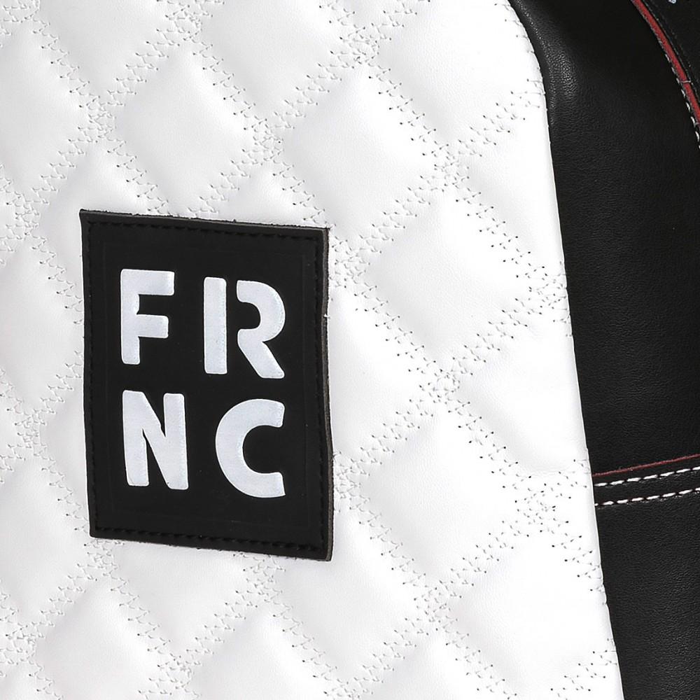 FRNC 1201-K backpack  καπιτονέ μαύρο - λευκό