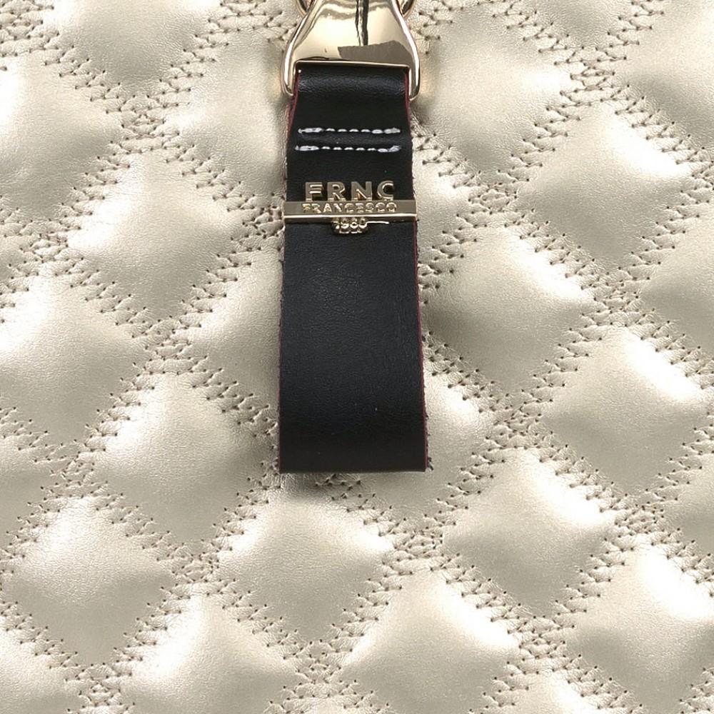 FRNC 1287 backpack πουγκί καπιτονέ, πλατίνα