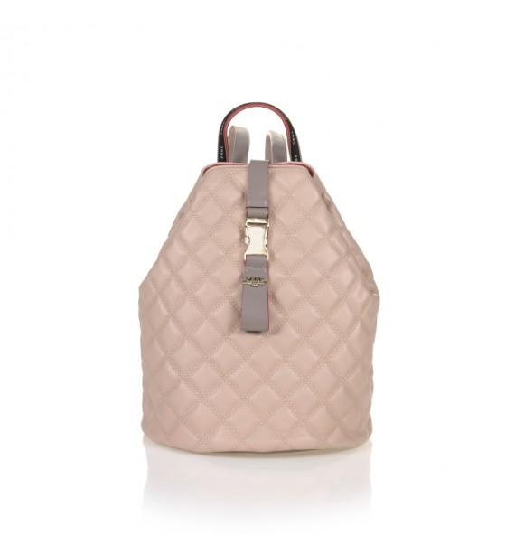 FRNC 1287 backpack πουγκί καπιτονέ, πούδρα
