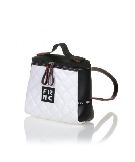 FRNC 1290 πολυμορφικό σακίδιο, μαύρο - λευκό