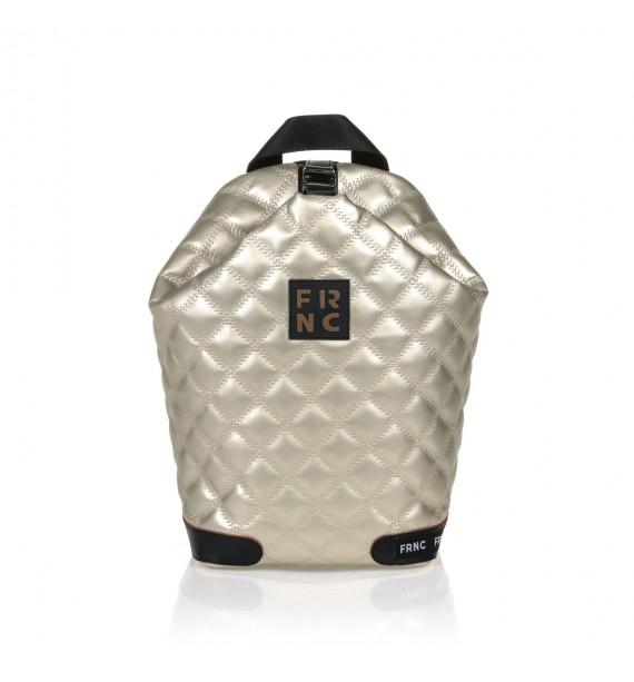 FRNC 1297 backpack πουγκί καπιτονέ, πλατίνα