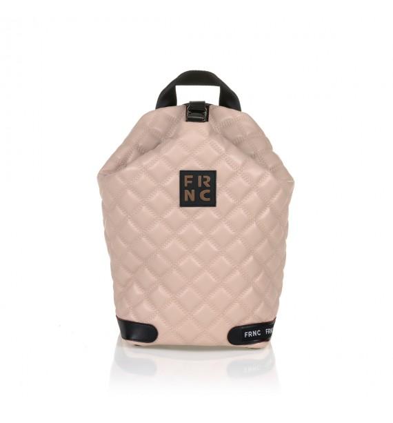 FRNC 1297 backpack πουγκί καπιτονέ, πούδρα