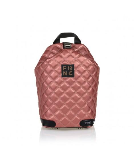 FRNC 1297 backpack πουγκί καπιτονέ, κόκκινο περλέ