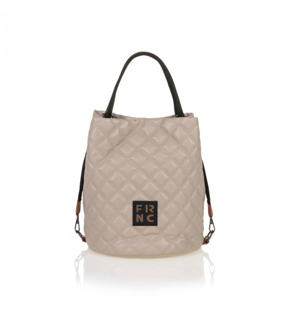 FRNC 1299 τσάντα χειρός - ώμου, μπεζ