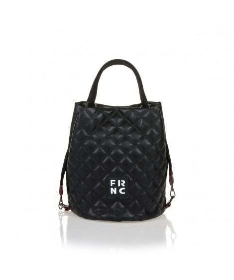 FRNC 1299 τσάντα χειρός - ώμου, μαύρο