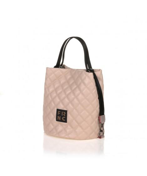 FRNC 1299 τσάντα χειρός - ώμου, πούδρα