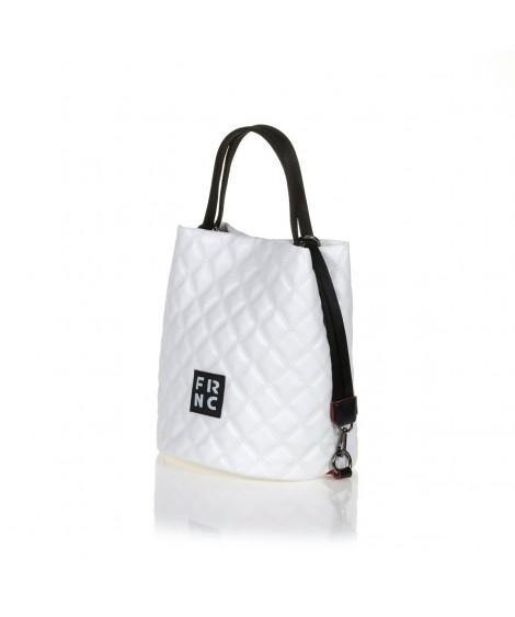 FRNC 1299 τσάντα χειρός - ώμου, λευκό