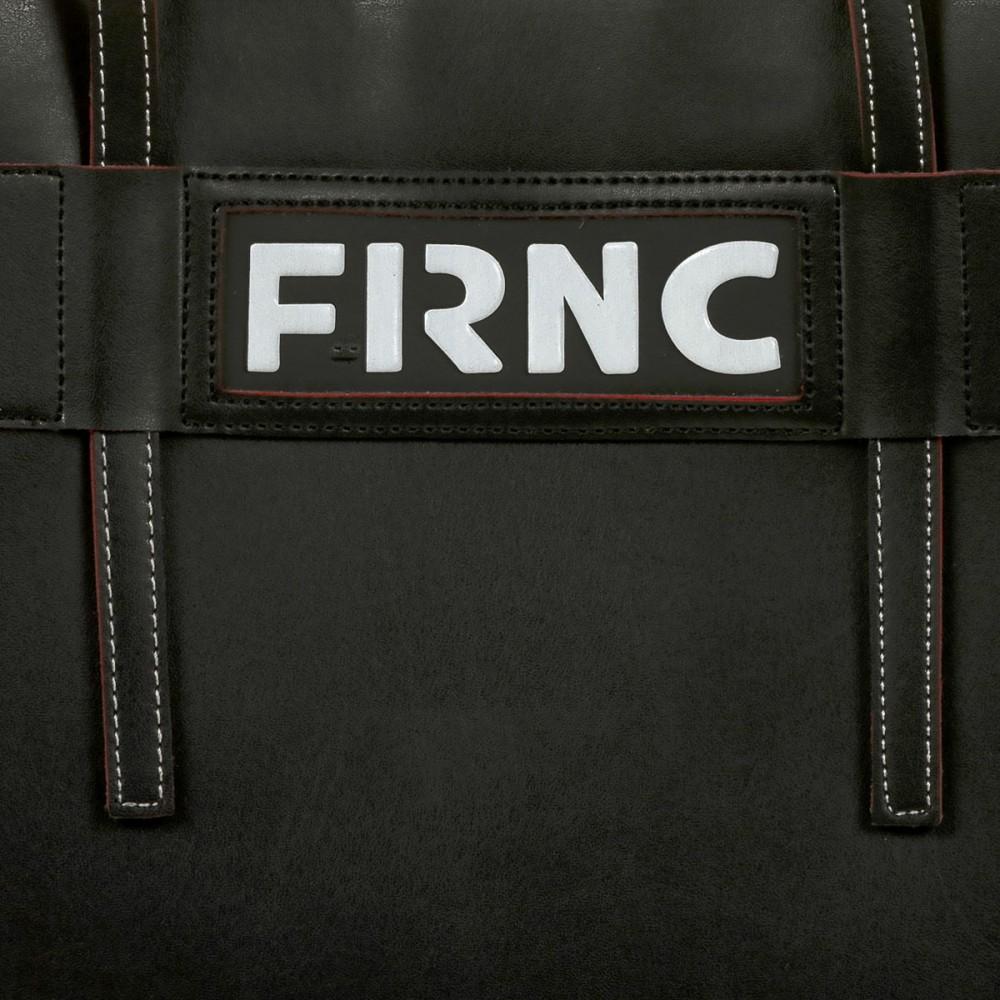 FRNC 1501 τσάντα χειρός - ώμου, μαύρο