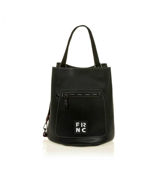 FRNC 1504 τσάντα χειρός - ώμου, μαύρο