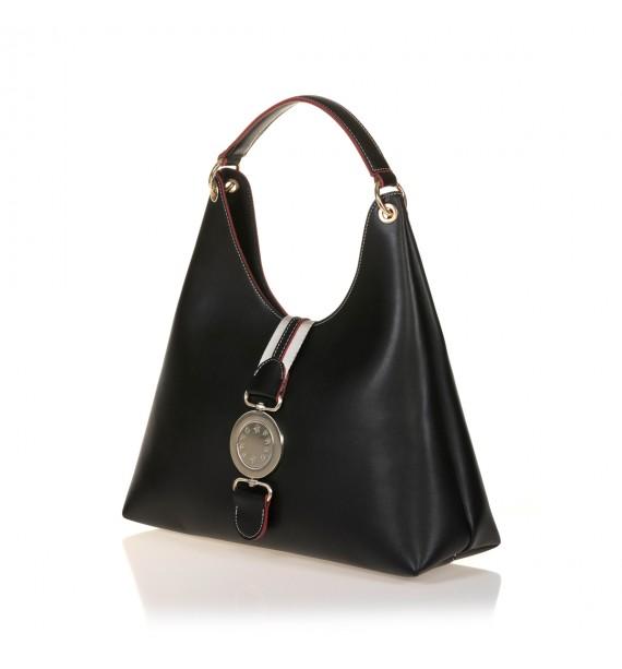 FRNC 572 τσάντα χειρός - ώμου, μαύρο