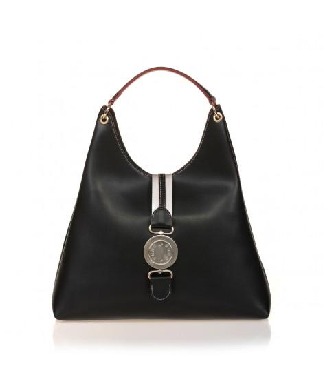 FRNC 573 τσάντα χειρός - ώμου, μαύρο