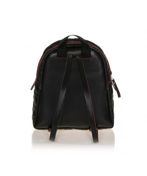 FRNC 901 backpack με διακοσμητική αλυσίδα, μαύρο
