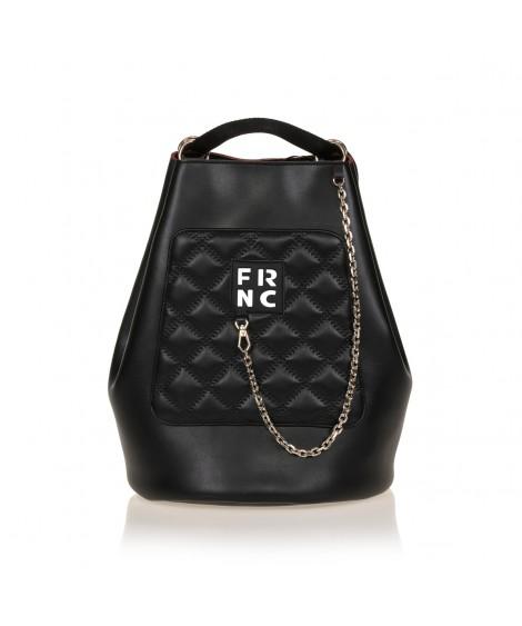 FRNC 903 πολυμορφικό backpack σε σχήμα πουγκί, μαύρο