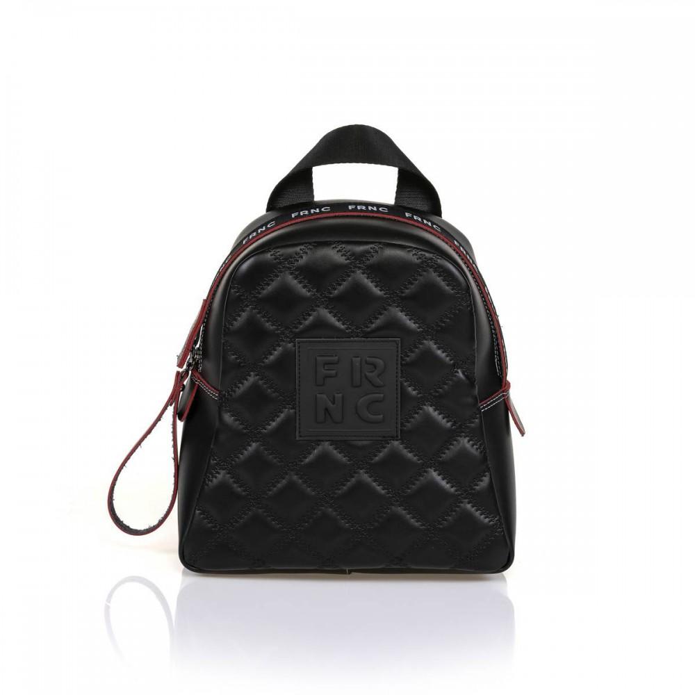 FRNC 1201-K backpack  καπιτονέ μαύρο