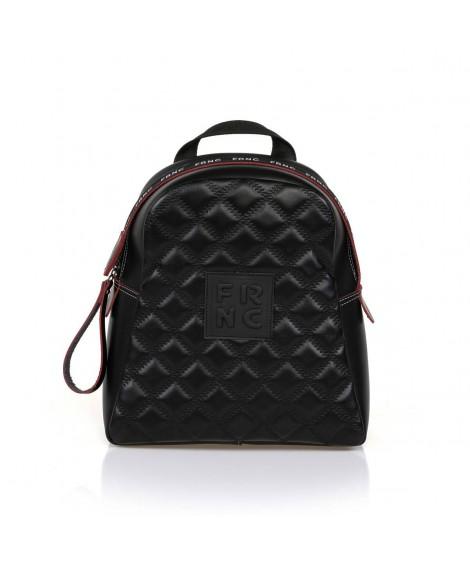 FRNC 1202-K backpack καπιτονέ μαύρο
