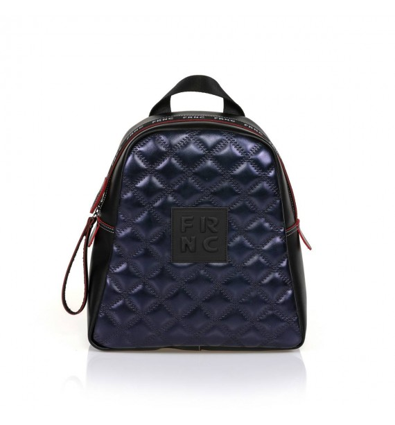 FRNC 1202-K backpack καπιτονέ μπλε μεταλλικό