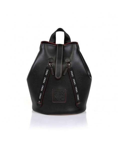 FRNC 1241 backpack πουγκί μαύρο