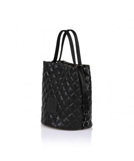 FRNC 1299 τσάντα χειρός - ώμου μαύρο.