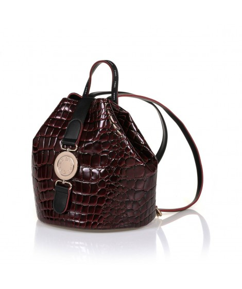 FRNC 1413 backpack πουγκί μπορντό