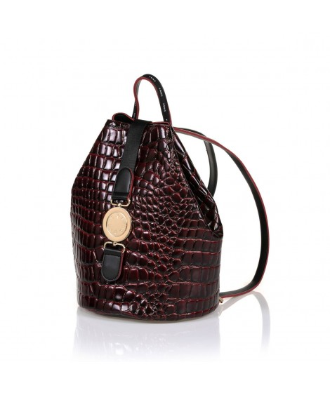 FRNC 1414 backpack πουγκί μπορντό