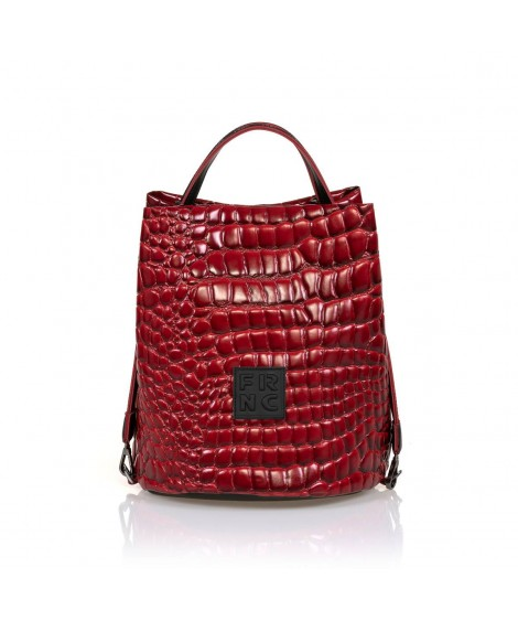FRNC 1420 τσάντα χειρός - ώμου κόκκινο.