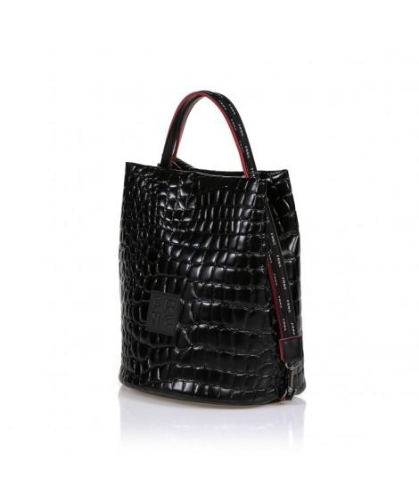 FRNC 1420 τσάντα χειρός - ώμου μαύρο.