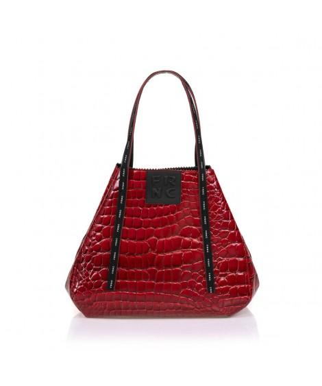 FRNC 1422 τσάντα χειρός-ώμου κόκκινο.