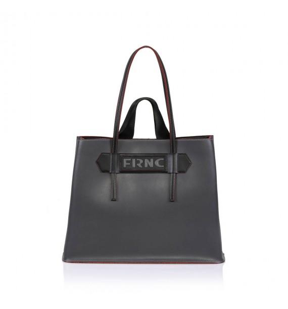 FRNC 1502 τσάντα χειρός  κ ώμου γκρι