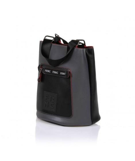 FRNC 1504 τσάντα χειρός - ώμου γκρι