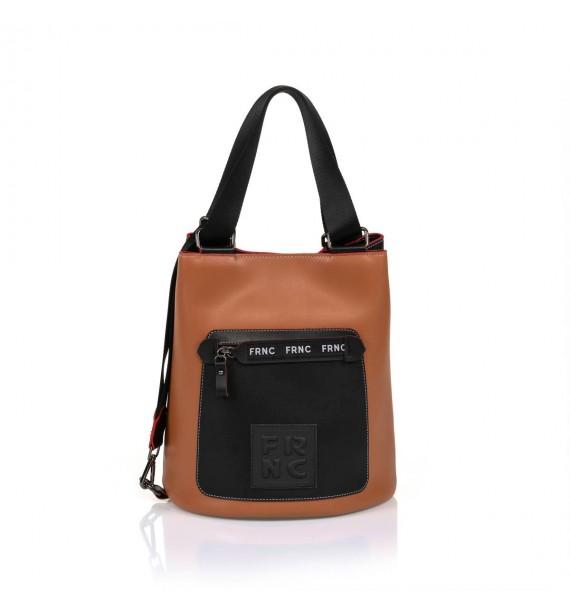 FRNC 1504 τσάντα χειρός - ώμου ταμπά.