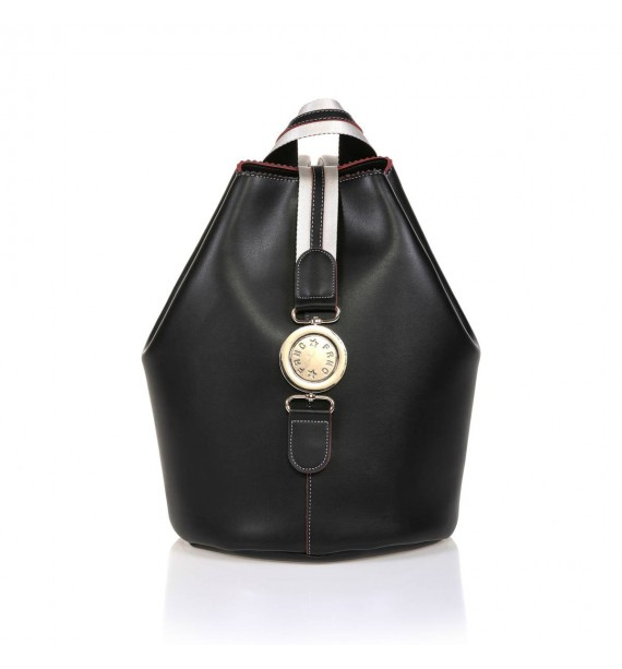 FRNC 563 backpack πουγκί μαύρο